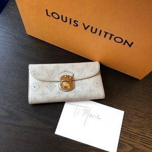 Louis Vuitton Mahina Wallet